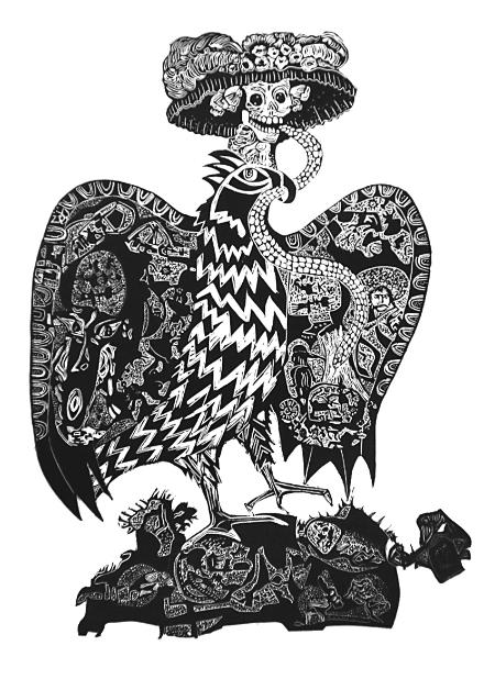 La Muerte, Mexikanska donationen Grafikens Hus