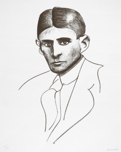 Carl Fredrik Reuterswärd, Kafka