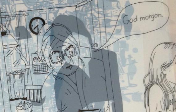 Screenram med motiv av Hanna Gustavsson